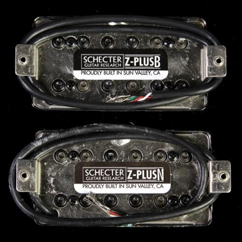 SCHECTER Z-PLUS Pickup Set (Chrome)