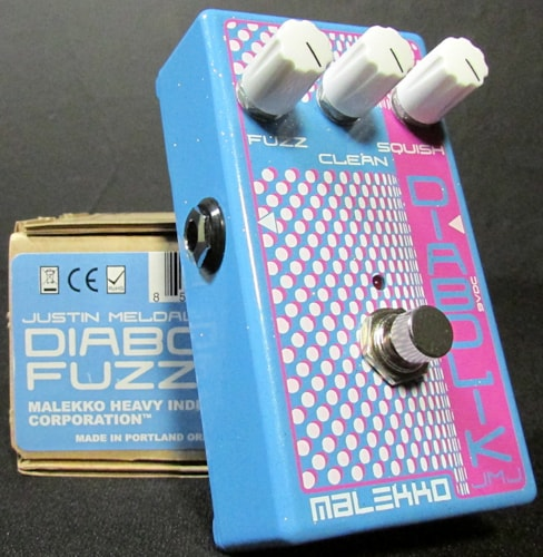 2014 Malekko Heavy Industries Diabolik Fuzz