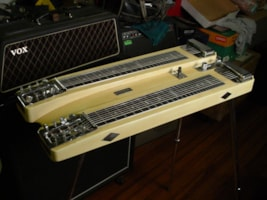 1955 Fender® Dual 8 Professional Steel Guitar