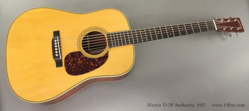 2014 Martin D-28 Authentic 1937