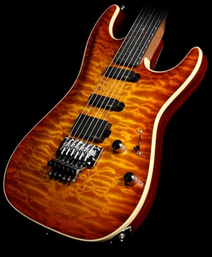 Suhr used standard carve top quilt maple electric