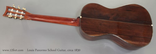 1830 Louis Panormo School Guitar