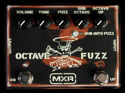 MXR Dunlop MXR Slash Octave Fuzz Effects Pedal