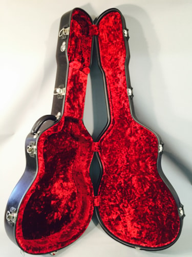 2014 Calton Case NEW! Calton Dreadnought Case Black With red interior!
