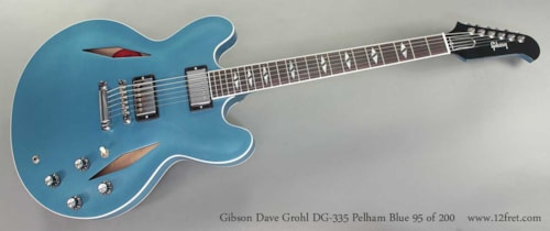 2014 Gibson DG-335 Dave Grohl