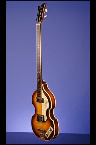 "1968 Hofner 500/1 ""Violin"" 'Fretless' Bass"