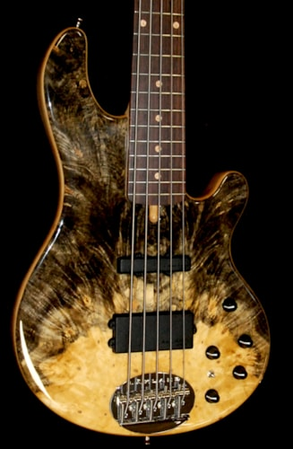Lakland USA 55-94 Buckeye Burl Maple Custom