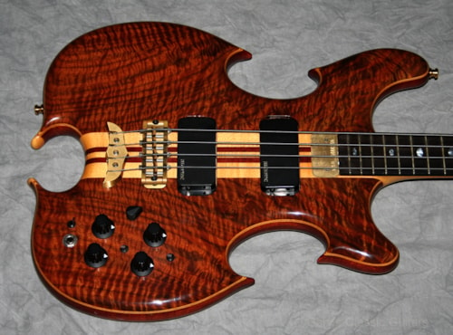 1993 Alembic Triple Omega Custom Bass  (#ALE0001)