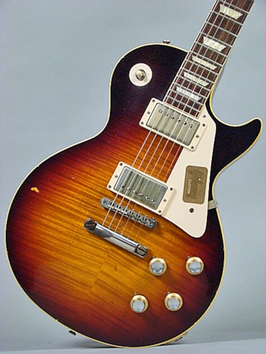2014 Gibson Historic Div. Les Paul R0, CC # 18, Dutchburst