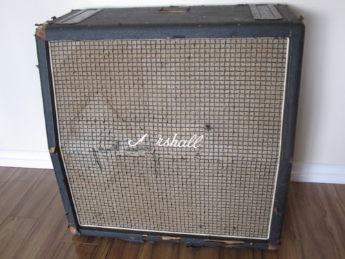 ~1971 Vintage Marshall 4x12 1960A CELESTION PLEXI CABINET