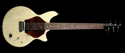 McInturff Spitfire Electric Guitar Off White Mary Kaye Finish