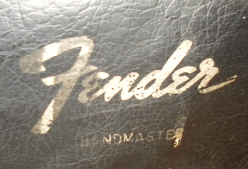~1965 Fender® Bandmaster Amp Head Cover