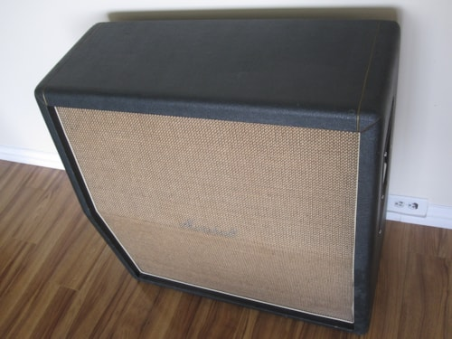 ~1969 Vintage Marshall 4x12 1960A CELESTION PLEXI CABINET