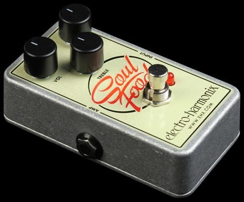 Electro-Harmonix Soul Food Overdrive Instrument Guitar Effects Pedal