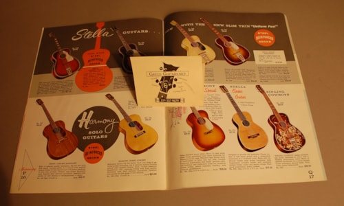 1962 Harmony Dealer Catalog , Price guide