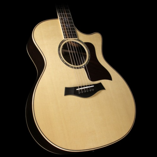 Taylor 814ce Grand Auditorium Brazilian Rosewood Limited Edition Acoustic/Electric Guitar Natural
