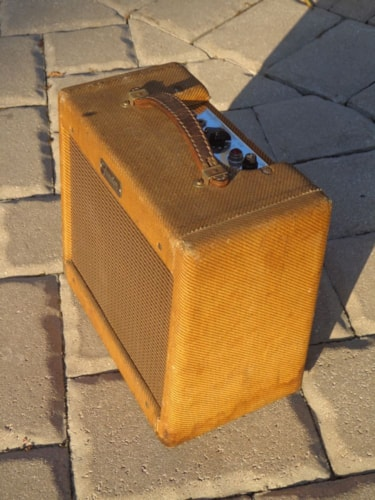1962 Fender Champ Tweed Amp