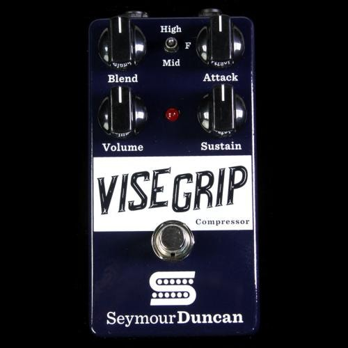 Seymour Duncan Vise Grip Compressor Guitar Effects Pedal