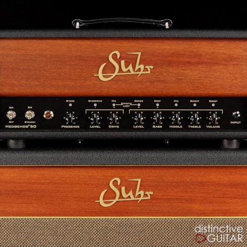 Suhr Hedgehog 50 Head w/ Matching 2x12 Cabinet