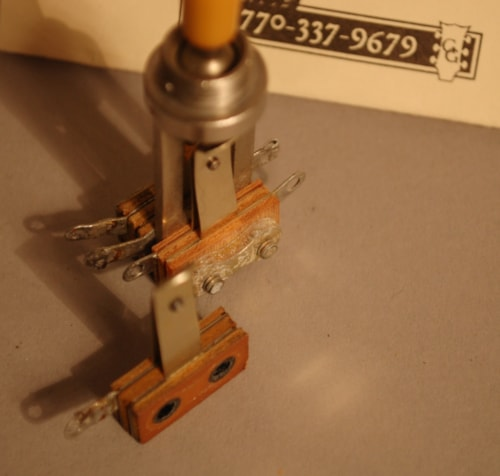 1953 Switchcraft 3 way selecter switch toggle switch