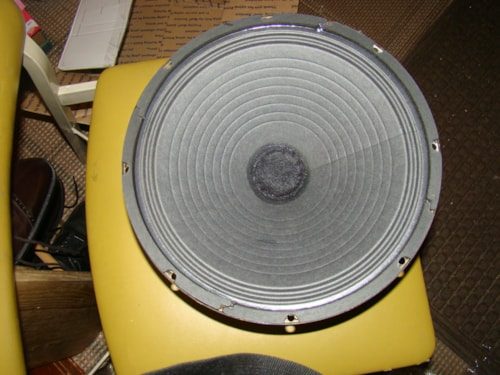 "1960 Motorolo Jensen Golden Voice 12"" Speaker"