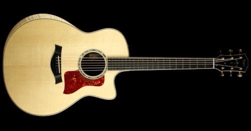 Taylor Used Taylor Custom Shop BTO Left-Handed Grand Orchestra Mahogany Acoustic/Electric Guitar Natural