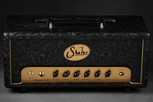 Suhr Badger 18 - Head - Black Western