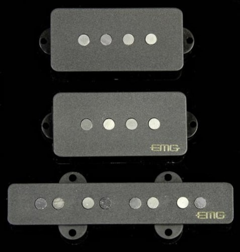 EMG GZR-PJ Geezer Butler Signature Electric Bass Pickup Set Black