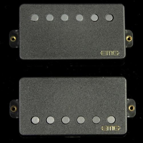 EMG 57/66 Electric Guitar Humbucker Pickups Set Black