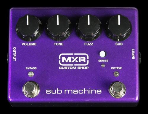 MXR Custom Shop Sub Machine Fuzz Electric Guitar Effect Pedal