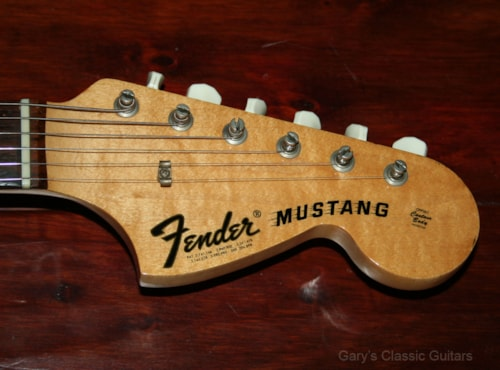 1971 Fender Competition Blue Mustang  (#FEE0802)