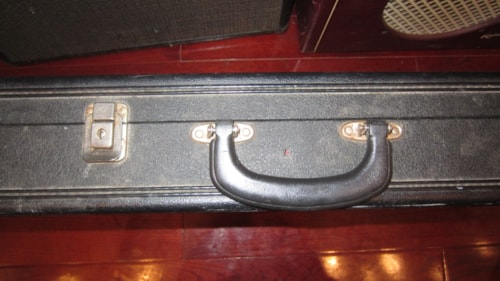 ~1969 Gibson SG Hard Shell Case