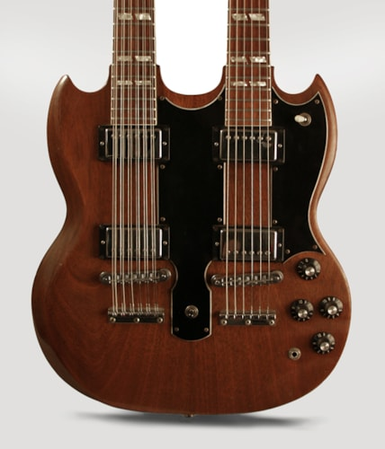 1979 Gibson Eds 1275 Double 12 Natural Mahogany Gt Guitars