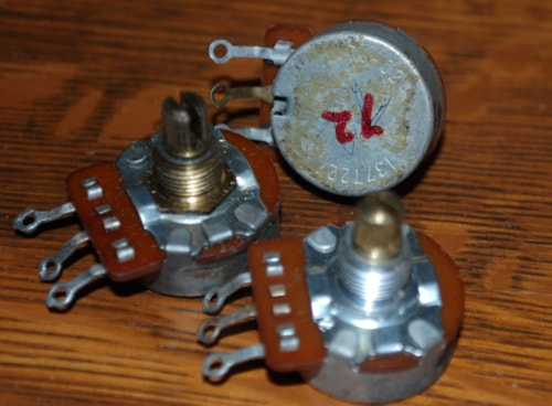 1972 CTS 500 K Potentiometers