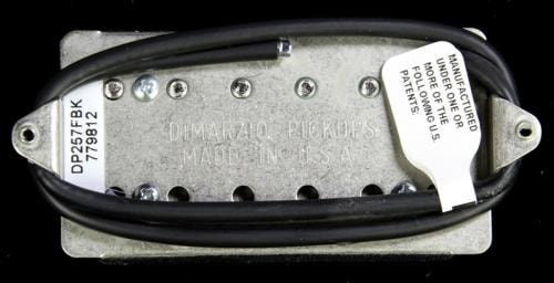 DiMarzio Illuminator John Petrucci F-Spaced Humbucker Pickup Black