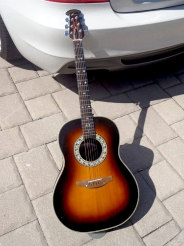 1979 Ovation 1112-1 Balladeer Custom