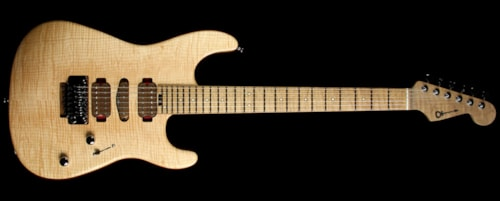 charvel guthrie govan birds eye maple roasted flame maple neck guitar natural natural guitars. Black Bedroom Furniture Sets. Home Design Ideas