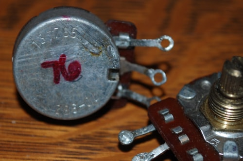 1976 CTS 250 K Potentiometers