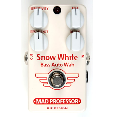 2010 MAD PROFESSOR Snow White Auto Bass Wah HW