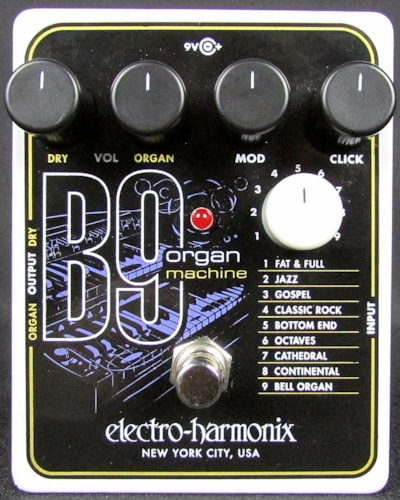 2015 ELECTRO HARMONIX B9 Organ Machine