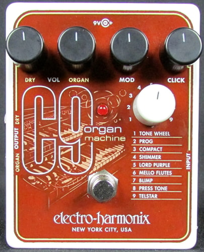 2015 ELECTRO HARMONIX C9 Organ Machine