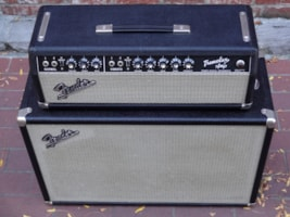 1966 Fender® Tremolux with 210 Piggyback Cabinet