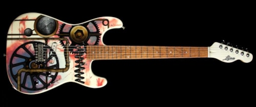 Lipe Virtuoso Steampunk by Pamelina Electric Guitar