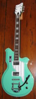 2013 Eastwood Airline Map DLX Baritone Guitar