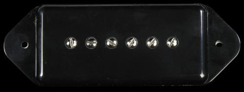 Bare Knuckle Shop Worn Bare Knuckle Pig 90 Dogear Electric Guitar Neck Pickup Black