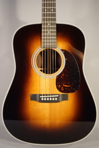 "Martin Guitars NEW! Martin HD-28 Acoustic Guitar WIth Case ""Sunburst"""
