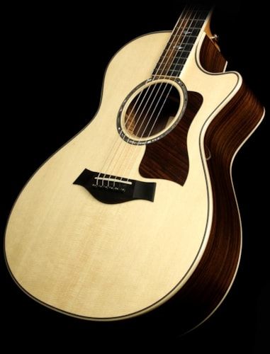 Taylor 812ce Grand Concert Acoustic/Electric Guitar Natural