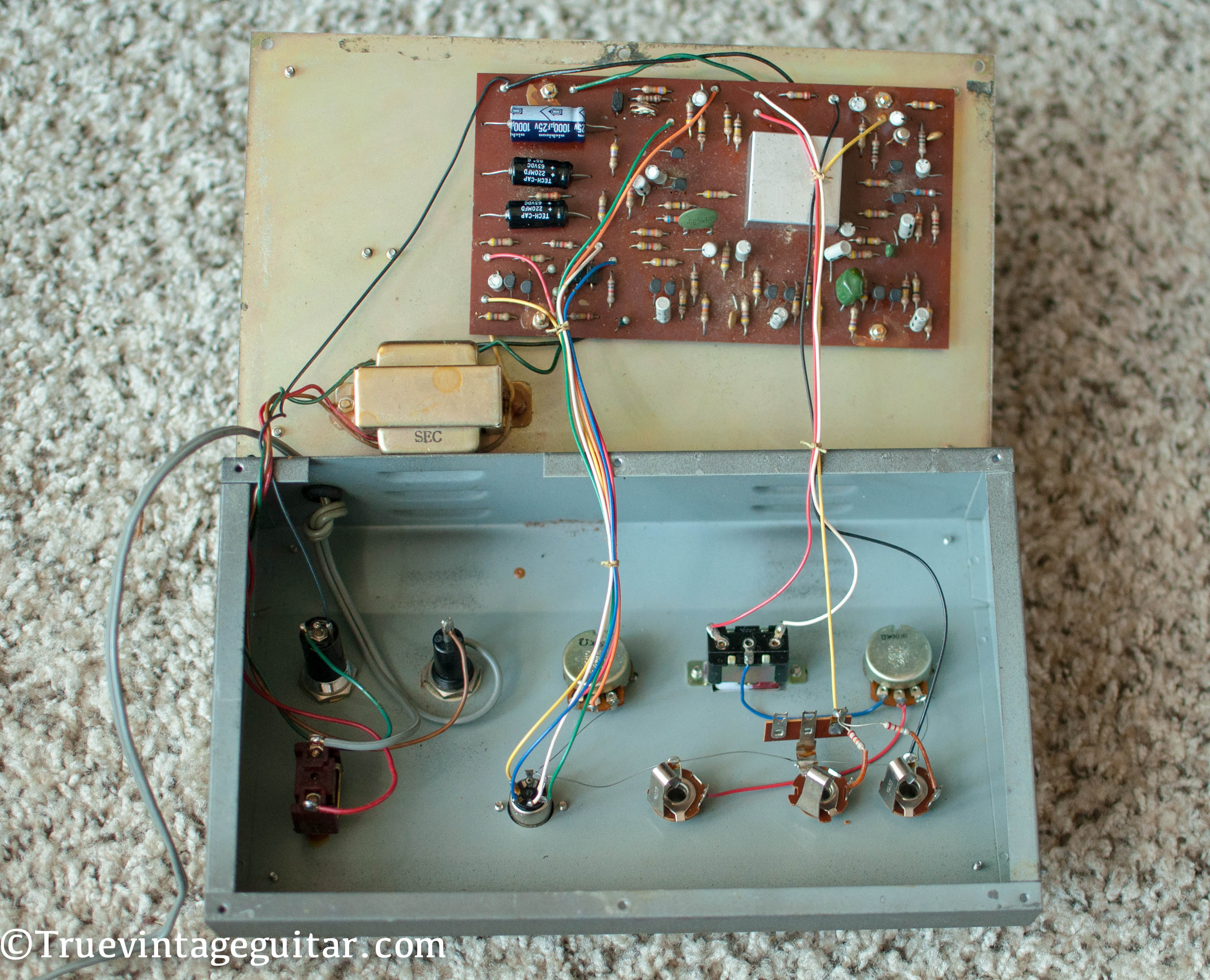 Shin Ei Uni Vibe Schematic Univibe Wiring Diagrams Pedal Diagram 1969 U003e Effects True Vintage Guitar