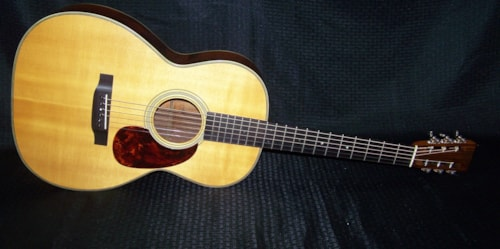 1964 C.F. Martin & Co. 000-28C steel string conversion