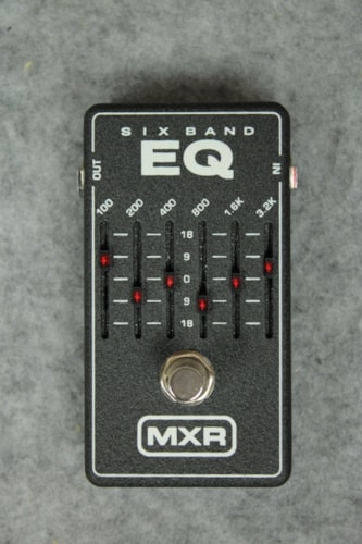 MXR M109 Six Band EQ Pedal